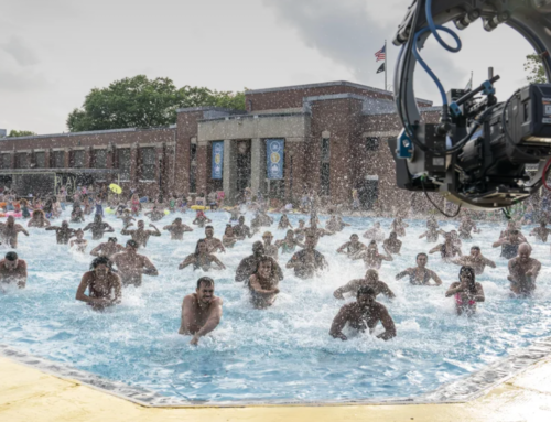 """Go Behind the Scenes of Creating the """"96,000"""" Pool Scene from """"In The Heights"""""""